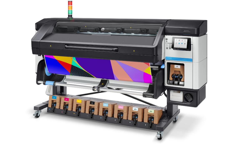 Nieuwe laserprinter voor Iwaarden - HP Latex 800W