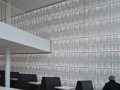 Akoestisch kunstwerk van Martijn Sandberg in Universiteit Leiden