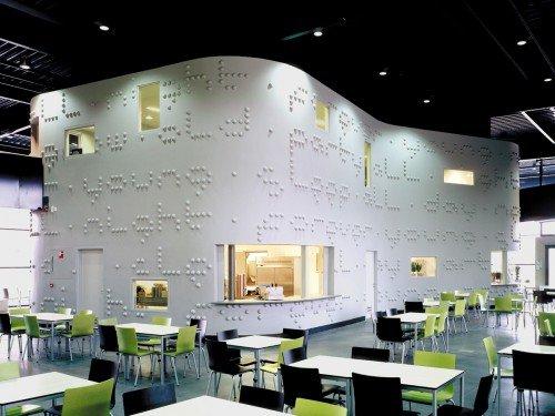 Iwaarden Artwork - art project, Kunstproject - Typografisch kunstwerk Martijn Sandberg in beton