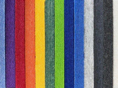 interior akoestisch wand materiaal, acoustic wall, verschillende kleuren stalen, iwaarden