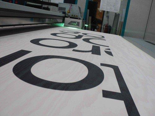 Groot formaat print op plaat, Print-to-plate, printen op hout decoratie print, Iwaarden