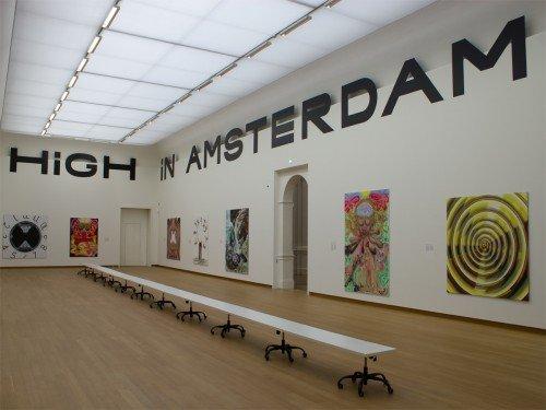 inrichting tentoonstelling Jana Euler in Stedelijk Museum Amsterdam