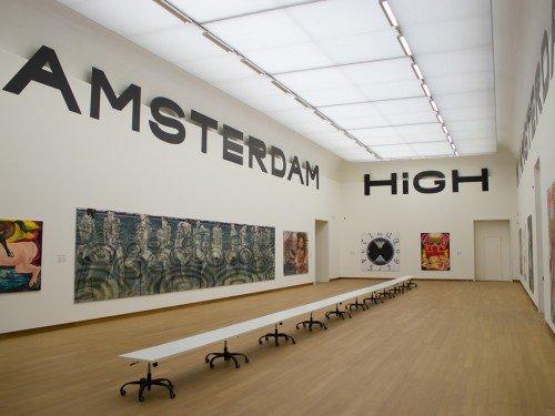 Artwork, expositions, exhibits, tentoonstelling en inrichting van het stedelijk museum jana Euler. Tentoonstelling gemaakt door Iwaarden