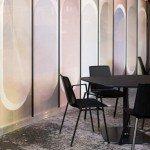 Glasdecoratie Squid zelfklevend textiel