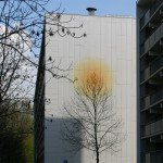 Artworks inspired by interior residents, executed by Iwaarden as a mural on Graan flats for Visch Hoofddorp