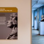 Signage, way finding and wall graphics for the interior design of Musea Zutphen