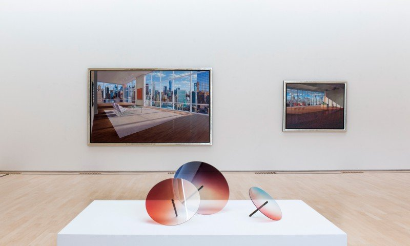 Art- and design objects Rive Roshan, museum Amstelveen by Iwaarden