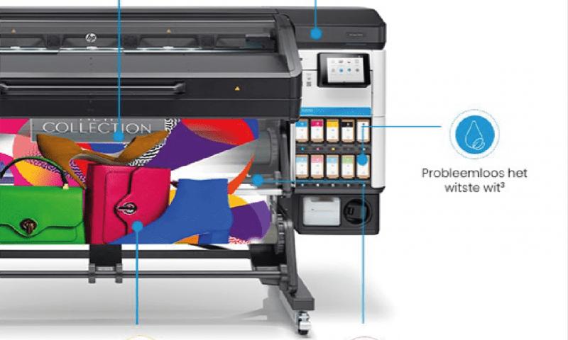 News iwaarden, New environmentally friendly printer, HP Latex 800W