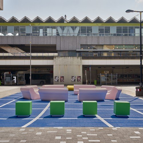 The Splash, a multifunctional meeting place in Rotterdam